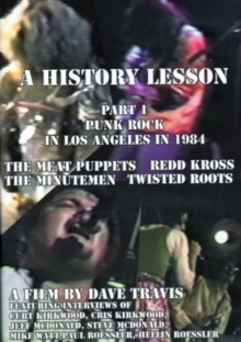 History Lesson: Part 1 - Punk Rock in Los Angeles in 1984, DVD  DVD
