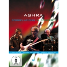 Ashra: Correlations, DVD  DVD