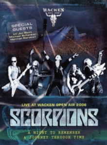 Scorpions: Live at Wacken Open Air 2006, DVD  DVD