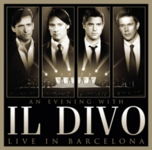 An Evening With Il Divo, CD / Album with DVD Cd