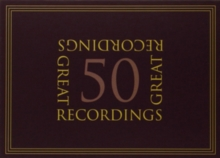 50 Great Recordings, CD / Box Set Cd
