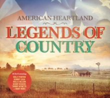 American Heartland: Legends of Country, CD / Album Cd