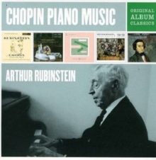Arthur Rubinstein: Chopin Piano Music - Original Album Classics, CD / Box Set Cd