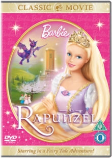 Barbie As Rapunzel, DVD  DVD