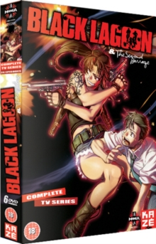 Black Lagoon: Complete Season 1 and 2, DVD  DVD
