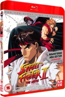 Street Fighter 2: The Animated Movie, Blu-ray  BluRay