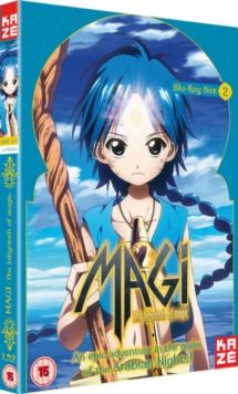 Magi - The Labyrinth of Magic: Season 1 - Part 2, Blu-ray  BluRay