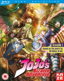 JoJo's Bizarre Adventure: The Complete First Season, Blu-ray BluRay
