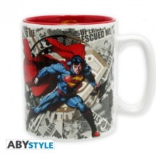 SUPERMAN LOGO MUG IN BOX 460ML,  Book