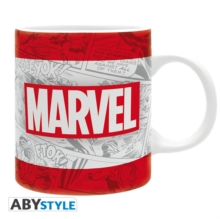 CLASSIC MARVEL LOGO MUG IN BOX 320ML,  Book