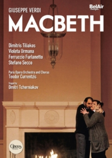 Macbeth: Opéra National De Paris (Currentzis), DVD DVD