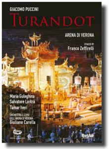 Turandot: Arena Di Verona (Carella), Blu-ray  BluRay