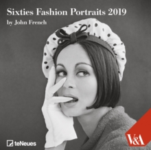 2019 SIXTIES FASHION 30 X 30 GRID CALEND,  Book