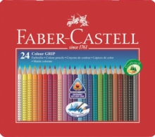 Faber Castell Grip Colouring Penccils Pack of 24.,  Book