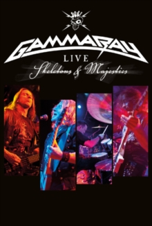 Gamma Ray: Skeletons and Majesties Live, DVD  DVD