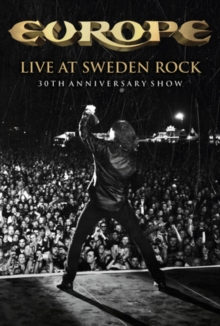 Europe: Live at Sweden Rock - 30th Anniversary Show, Blu-ray  BluRay