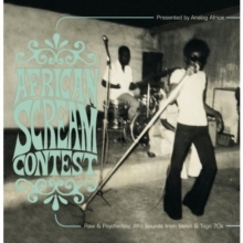 African Scream Contest: Raw & Psychedelic Afro Sounds, CD / Album Cd
