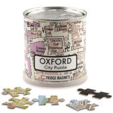 OXFORD CITY PUZZLE MAGNETIC 100 PIECES,  Book