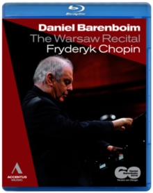 Chopin: The Warsaw Recital (Barenboim), Blu-ray BluRay