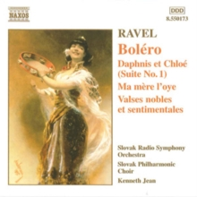 Maurice Ravel: Bolero, CD / Album Cd