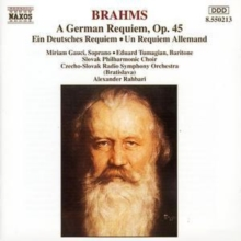 Brahms/german Requiem, CD / Album Cd