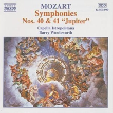 Symphonies No. 40 & 41, CD / Album Cd