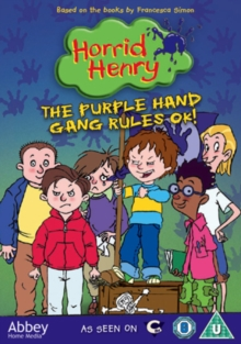 Horrid Henry: The Purple Hand Gang Rules OK!, DVD  DVD