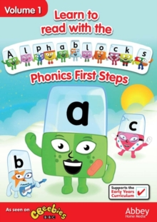 Alphablocks: Volume 1 - Phonics First Steps, DVD  DVD