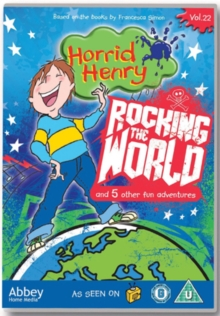 Horrid Henry: Rocking the World, DVD  DVD