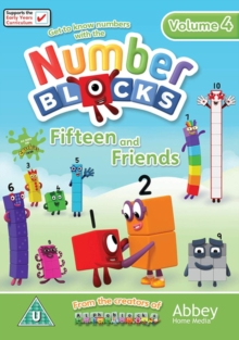 Number Blocks: Fifteen and Friends, DVD DVD