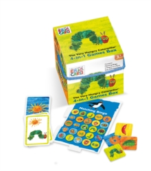 6165 Very Hungry Caterpillar 4 : 1 Games Cube, General merchandize Book