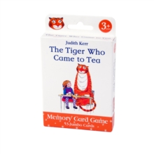 6695 Tiger Who Came To Tea Card Game, General merchandize Book