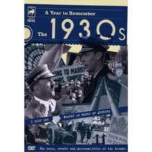 A   Year to Remember: The 1930s, DVD DVD