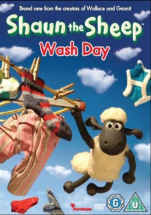 Shaun the Sheep: Wash Day, DVD  DVD