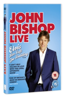 John Bishop: Live - The Elvis Has Left the Building Tour, DVD  DVD