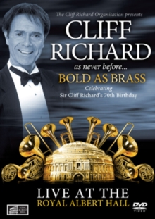 Cliff Richard: Bold As Brass - Live at the Royal Albert Hall, DVD  DVD