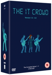 The IT Crowd: Series 1-4, DVD DVD