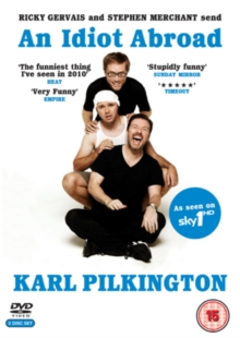 An  Idiot Abroad: Series 1, DVD DVD