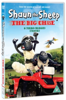Shaun the Sheep: The Big Chase, DVD  DVD