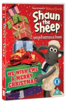 Shaun the Sheep: We Wish Ewe a Merry Christmas, DVD  DVD