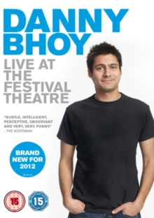 Danny Bhoy: Live at the Festival Theatre, DVD  DVD