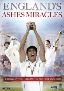 England's Ashes Miracles, DVD  DVD