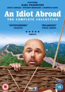 An  Idiot Abroad: The Complete Collection, DVD DVD