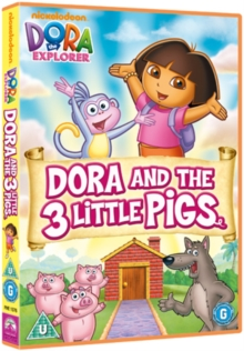 Dora the Explorer: Dora and the Three Little Pigs, DVD  DVD