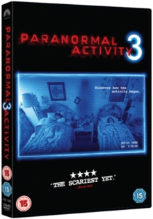 Paranormal Activity 3, DVD  DVD
