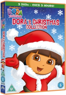 Dora the Explorer: Dora's Christmas Collection, DVD  DVD