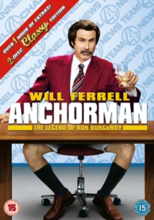 Anchorman - The Legend of Ron Burgundy, DVD  DVD