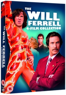 The Will Ferrell 4-film Collection, DVD DVD
