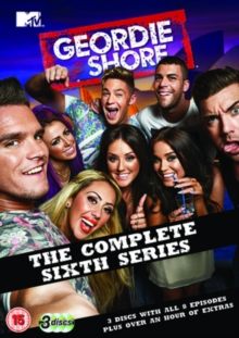 Geordie Shore: The Complete Sixth Series, DVD  DVD