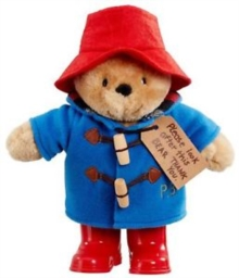 Paddington Bear With Boots Soft Toy,  Book